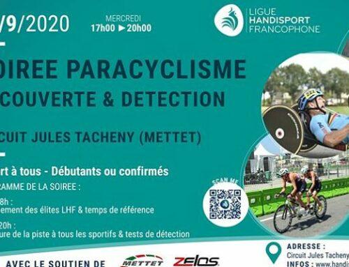 Soirée détection paracyclisme à Mettet